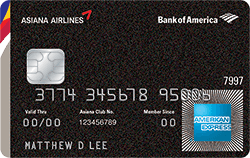 Asiana Visa Signature 174 Credit Card