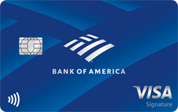 Bank of america travel rewards credit card reheart Image collections