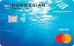 Norwegian Cruise Line World Mastercard