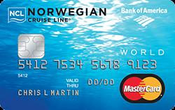 Norwegian Cruise Line® World Mastercard® Credit Card
