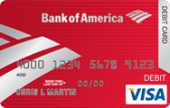 replace a bank of america debit card