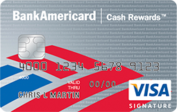Cash Back Credit Cards from Bank of America