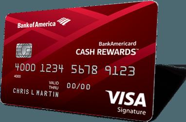 Bankamericard Cash Rewards Credit Card From Bank Of America