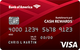 Apply for a Credit Card line from Bank of America