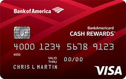 BankAmericard Cash Rewards™ Credit Card for Students from Bank of America