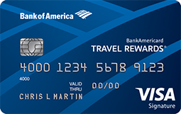 BankAmericard Travel Rewards® credit card from Bank of America