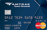 Amtrak Guest Rewards® World MasterCard® Credit Card