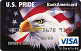 U.S. Pride® BankAmericard Cash Rewards™ Visa® card