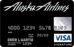 credit cards products alaska airlines card