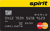 Spirit Airlines World MasterCard® credit card