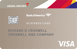Asiana visa business credit card from bank of america learn about the asiana visa business credit card from bank of america earn asiana airlines credit card miles for rewards with this no annual fee card reheart Gallery