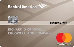 Business Advantage Cash Rewards Mastercard from Bank of