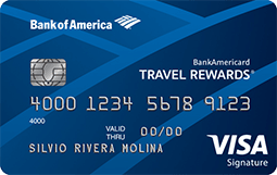 Tarjeta de crédito BankAmericard Travel Rewards®