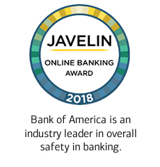 Bank of America is an industry leader in overall safety in banking.