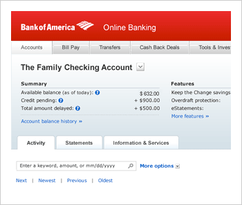 Online Banking from Bank of America - Enroll Online Today