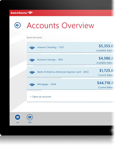 how to receive money from bank of america mobile transfer