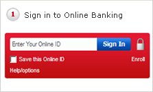 1 Sign in to Online Banking