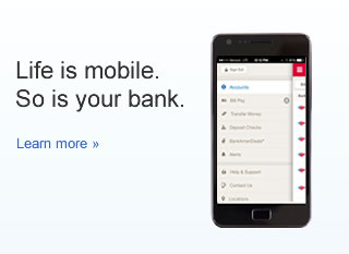 Life is mobile. So is your bank.