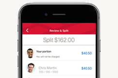 Securely send, receive and request money in a few taps